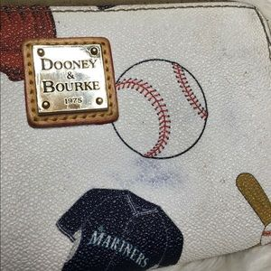 Dooney & Bourke Bags - Dooney & Bourke Wallet Seattle Mariners Flawed